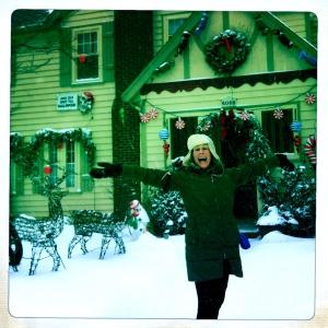 Vicki Grant, Christmas, snow